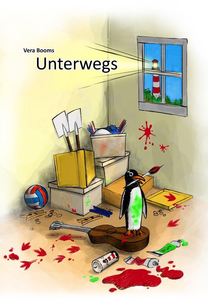 Unterwegs - der erste Ameland Ferienfreizeitroman von Vera Booms